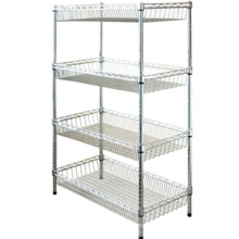 Popular wire racks shelves/ racks and shelves wire/ racking shelving with reasonable price