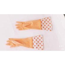 Amplamente Use Preço Barato Mulheres Do Agregado Familiar Mão Longa Trabalho Borracha Luvas de Borracha Inverno