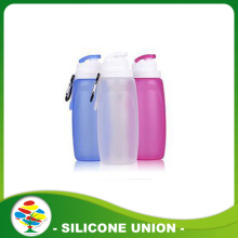 Bouteille d'eau 2017 Wholsale Silicone Outdoor Sports