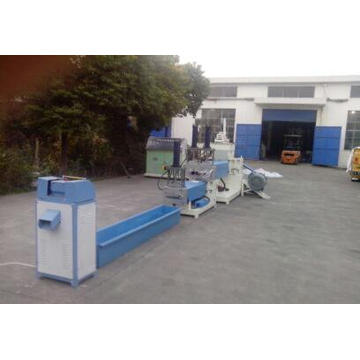 Plastic Recycling Pellet Making Granulator Machine