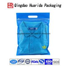 Sacos plásticos superiores do empacotamento plástico da roupa da categoria