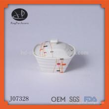 Muchos tipos de cerámica de cerámica de cerámica cookie mason jar tapas
