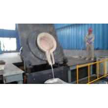 Low - Pollution Medium Frequency Induction Aluminum Melting