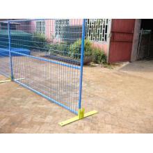 ПВХ покрытием временный забор для СК