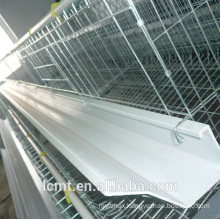 PVC Chicken Poultry Feeding Trough For Automatic Feeding System