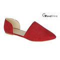 Women′s Flat Pointed-Toe Casual Ballet Shoes