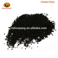 Charbon actif de coquille de noix de coco granulaire de la maille 12x40 pour le traitement de l'eau
