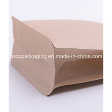 3-Dimensional Food Kraft Paper Packaging Packing Bag