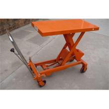 Chariot manuel de brouette d'atelier d'entrepôt manuel de 1000kg