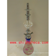 Blanco diseño moda alta calidad Nargile fumar tubo shisha cachimba
