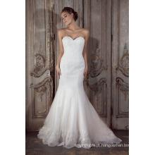 Vestido de casamento vestido de noiva sereia