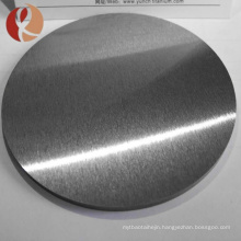 Top quality polished surface titanium round target