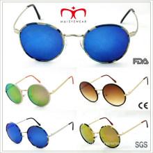 Ретро металлические круглые солнцезащитные очки (MI204)