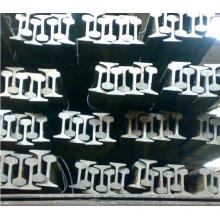 Prix du fabricant pour Q235B 12kg rail en acier léger avec des plaques de poisson