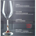 460ml LEED-Free Хрустальная эмаль Алмазная смесь Стеклянный кубок