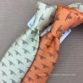 Handmade 100% Silk Jacquard Custom Corporate Tie with Logo