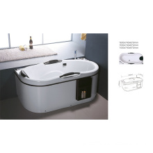 2014 New Acrylic Classical Square Hot SPA Bathtub (BNG4012)