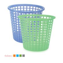 Cubo de plástico hueco de plástico redondo