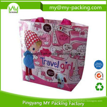 Recycling Promotion Matt laminierte Non Woven PP Einkaufstasche