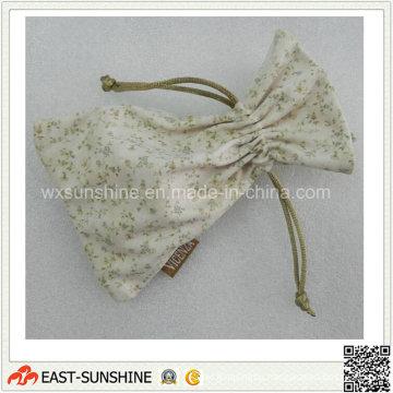 Microfiber Drawstring Jewellery Pouch (DH-MC0435)