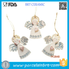 Custom Little Angel Ceramic Christmas Tree Decorating Ideas