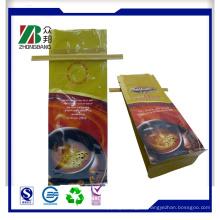 Side Zwickel Kaffee Verpackung Taschen mit Tin Tie Top