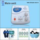 tens therapy machine with foot massager