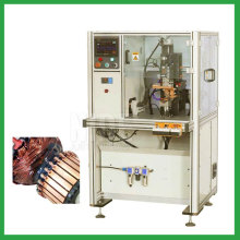 Automatic servo belt rotor commutator welding machine