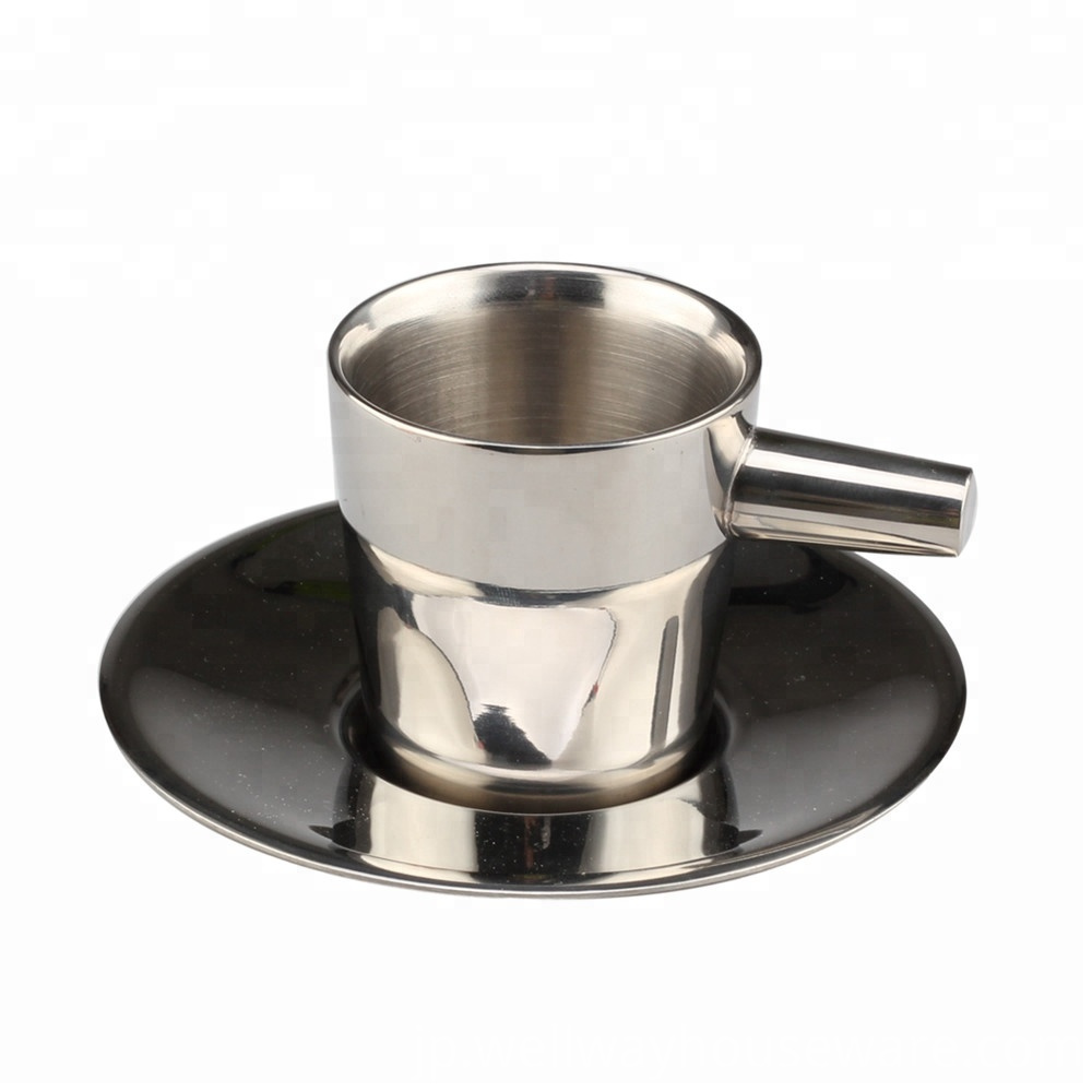 Double Wall Stainless Steel Espresso Tea Cup