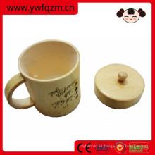 taza elegante al por mayor del té de la fibra de bambú