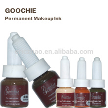 Pigmento manual del tatuaje de la ceja de Microblade de Goochie