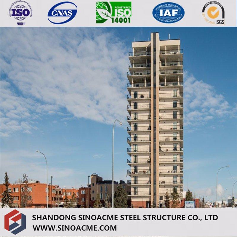 China Katar Doha Vorgefertigte Stahl Structural Hotel Gebäude Hersteller