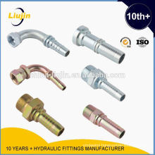 Hydraulic Fittings---Ningbo Yinzhou Liujin Hydraulic Equipment Factory Profession product hose fittings