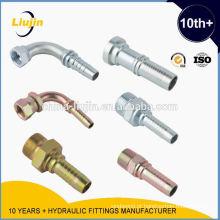 Encaixes hidráulicos --- Ningbo Yinzhou Liujin fábrica de equipamentos hidráulicos Profissão produto mangueiras