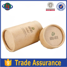 Kraft Paper Round Tea Box with high quality