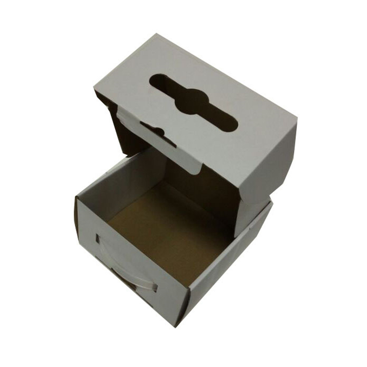 Oem White Matte Lamination Packaging Corrugated Box