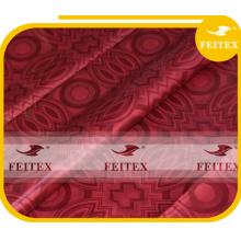 Moda africana ghalila tela hecha a mano bazin riche brocado de algodón de alta calidad FEITEX