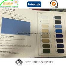 100 Polyester Stretch-Futter Gewebematerial T400 Umweltschutz