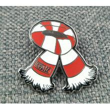 Broche / badge en forme de laiton émail synthétique en gros