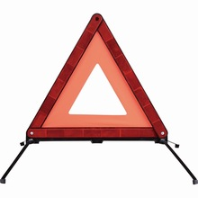 road traffic warning triangle for emergency