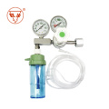 Household oxygen cylinder flow meter oxygen suction float pressure gauge pressure reducing valve with  humidifying
