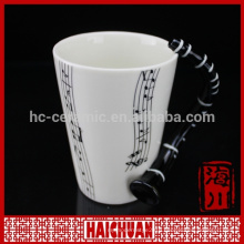 stoneware music cup