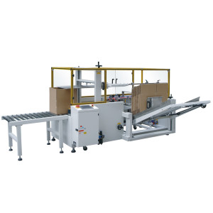 Semi Automatic Carton Erector Machine