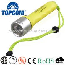 Unterwasser-Taschenlampe 20 m 1000 lm Cree LED Tauch-Taschenlampe mit Magnetschalter TP-52