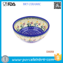 Cerâmica Chinesa 24oz Tigela De Porcelana