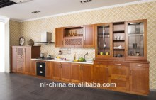 Oak shaker style kitchen cabinet ( Customized Color, Size with 12 Months warranty)