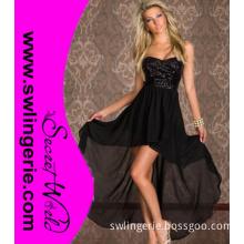 Luxury Crystal Sequin off Shoulder Evening Dress 20001-Black