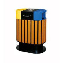 Cubo de basura ecológico de WPC al aire libre
