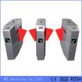 Système de barrière d'aileron de contrôle d'accès de code à barres