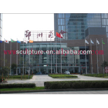 2015 New Stainless Steel Flagpole For Garden